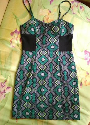Платье бюстье h&m