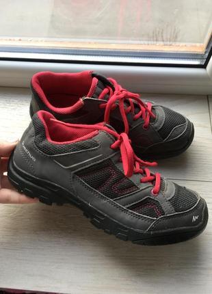 Трекинговые кроссовки quechua decathlon 35 р