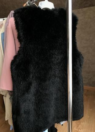 Меховая жилетка new look3 фото
