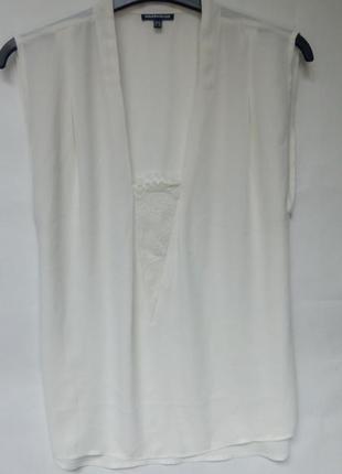 Шифоновая блузка с элементом бельевого стиля warehouse