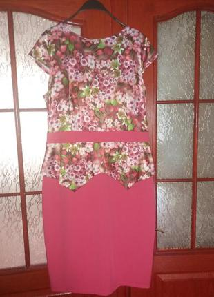 Красивое платье 52-54р