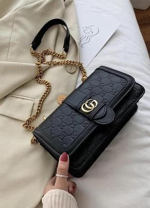 Женская сумочка кросс-боди на цепочке