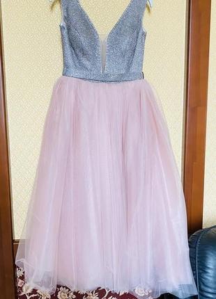 Шикарное выпускное платье в стиле грязных танцев и золушки