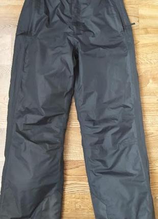 Лыжные, теплые термо штаны, брюки зимние alive, на 11-13лет р142-164