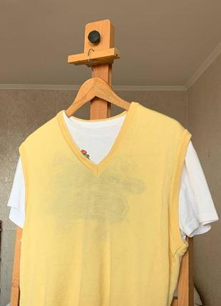Желтая жилетка marz munchen