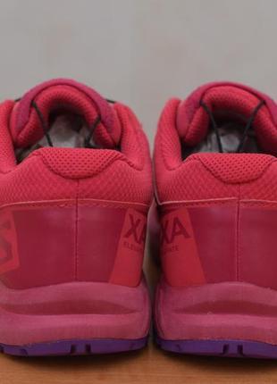 Малиновые кроссовки salomon, 37 размер. оригинал8 фото