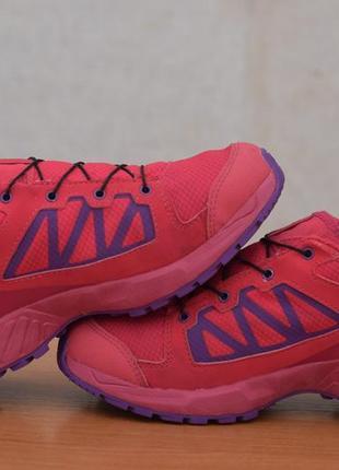 Малиновые кроссовки salomon, 37 размер. оригинал7 фото