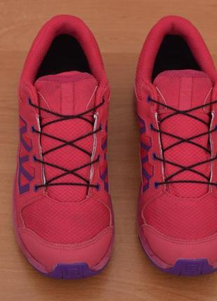 Малиновые кроссовки salomon, 37 размер. оригинал6 фото