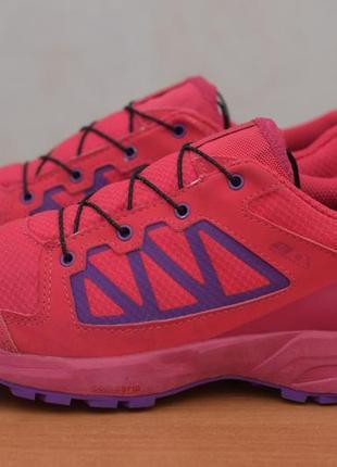 Малиновые кроссовки salomon, 37 размер. оригинал3 фото