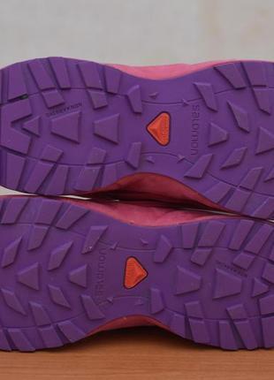 Малиновые кроссовки salomon, 37 размер. оригинал9 фото