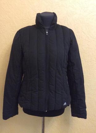 Adidas ballerfibre insulation тёплая стёганная куртка р.m оригинал!