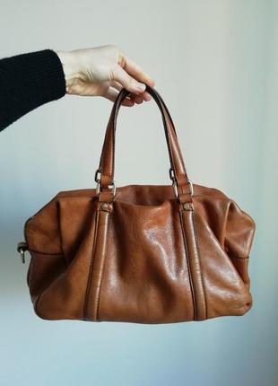 Zara сумка натуральна шкіра