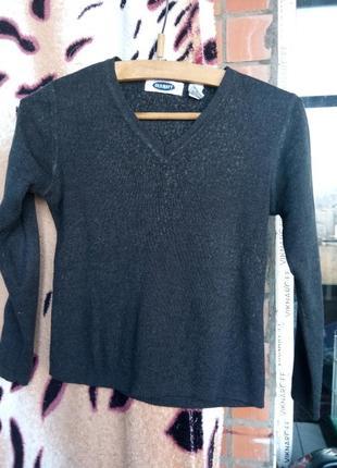 Стильний пуловер теплый мальчику 6-10л хлопчику кофта реглан утепленный