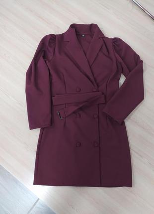 Платье пиджак6 фото