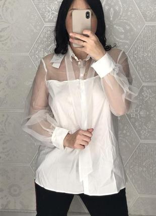 Блуза imperial італія нова розмір м сорочка рубашка италия