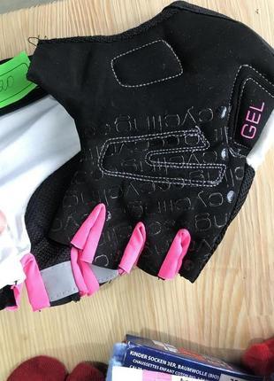 Перчатки для спорта велоспорта с гелем crane германия, р. 8