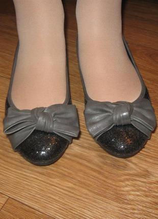 Нарядные балетки
