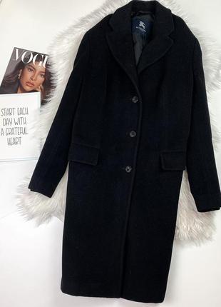 Чёрное пальто burberry (оригинал)