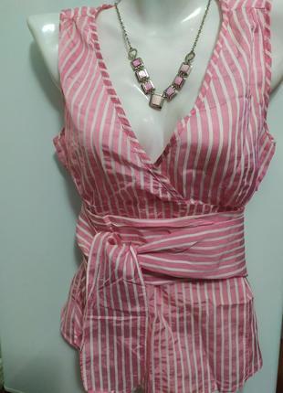 Блуза в полоску , zara ,m (44-46)