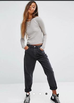 Джинсы момы высокая посадка винтаж мом mom jeans mc gordon