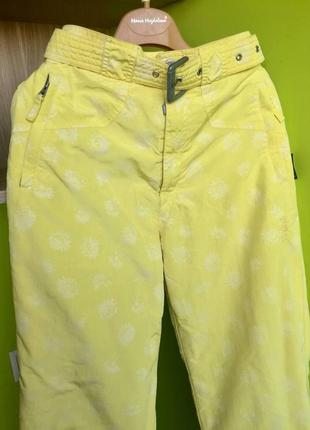 Яркие лыжные штаны born brid'n'tech+