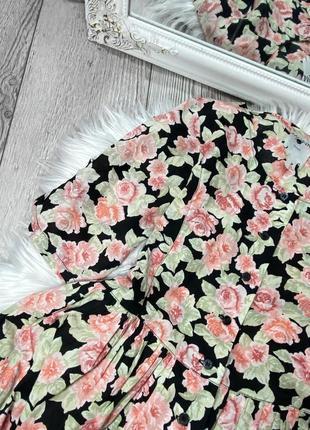 Платье в цветы2 фото