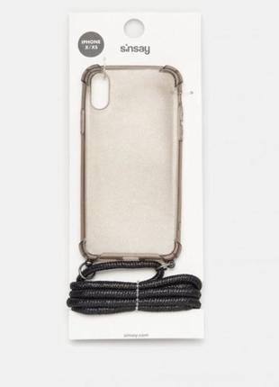 Чохол на iphone 6 6s 7 8  ,чехол крос боди с шнурком sinsay