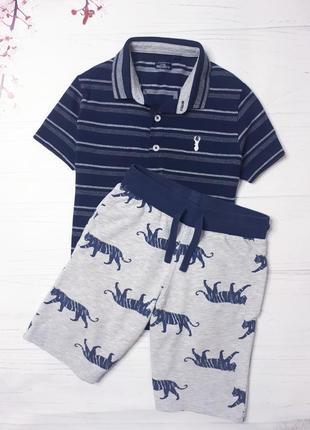 Набор футболка и шорты на мальчика  7-8 лет