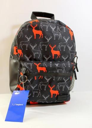 Рюкзак, ранец, городской рюкзак, спортивный рюкзак, олени