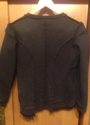Оригинальный пиджак швами наружу