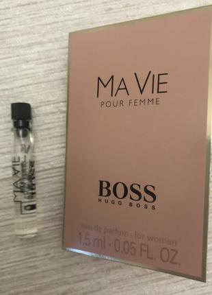 Hugo boss boss ma vie pour femme пробник оригинал 1,5 мл