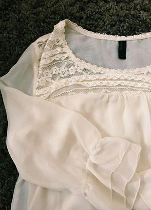 Шифоновая блузка,блуза