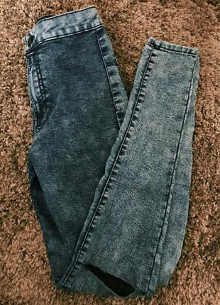 Джинсы с дырками, джинсы варенки, размер 36