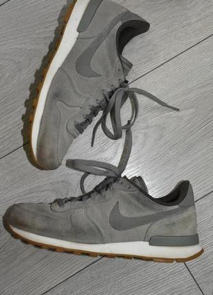 Замшевые кроссовки nike оригинал размер 37-38 стелька 23,5 см найки найк