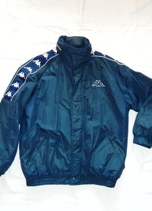 Куртка длинная весна осень kappa оригинал оверсайз плащовка ветровка