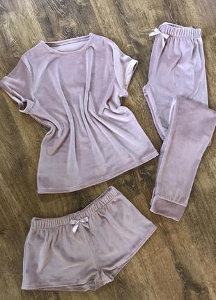 Пижама мама дочка / піжамки / мякенькі піжамки / одяг для сну /