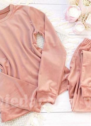 Пижама / піжама для подарка / велюрова піжамка