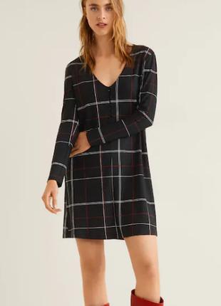 Красивое трикотажное платье / l , xl