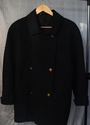 Пальто-кокон marks&spencer oversize