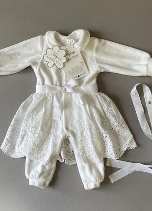 Tigres x andre tan комбінезон-плаття еліт на виписку і хрещення дівчинки!