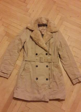 Пальто/ плащ pull&bear