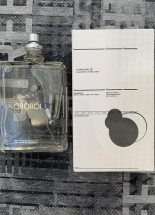 Escentric molecules escentric 01 tester 100 ml.