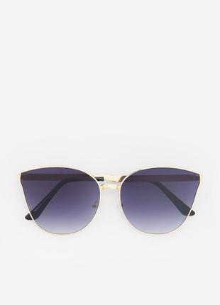 Солнцезащитные очки стекло медная оправа