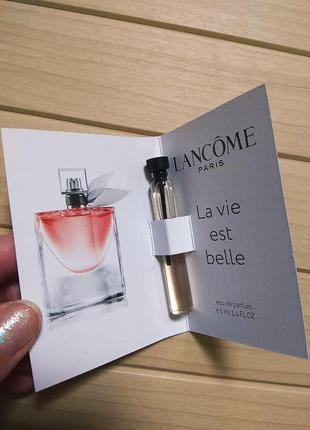 Духи парфюм пробник la vie est belle от lancome ☕ объём 5мл