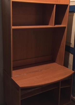 Шкаф с полками для гостиной