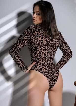 Леопардовое боди