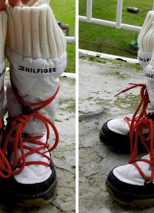 Tommy hilfiger сапоги, ботинки, зимняя обувь женская