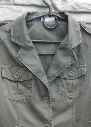 Куртка-пиджак из натурального хлопка today's woman
