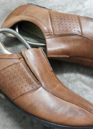 Туфли,мокасины кожаные ,муж. 44 р,air4men .clarks индии