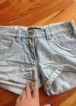 Motor шикарные джинсовые шорты xs-s. отличное состояние. супер цена